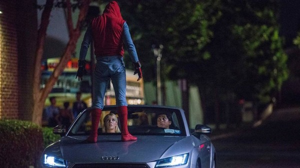 Audi to promote its 2018 Audi A8 in the new Spider-Man movie
