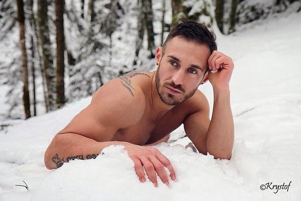 Grégory Capra: Neige et froid 2014 / 2015 : Adam (quater)