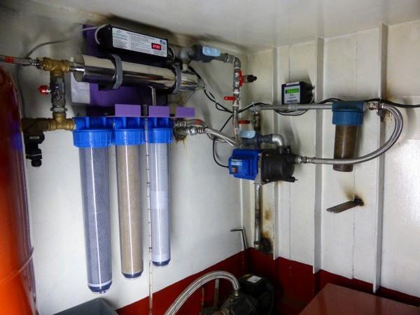 Fabriquer son eau potable sur un bateau qui navigue | Kairos Peniche