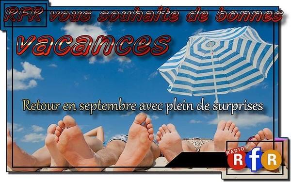 """Retour en Septembre avec le """"plein de nouveautés!"""" pour Radio RFR"""