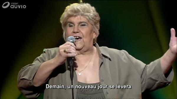 "Mémé Loubard chante dans ""Wallons Nous"", en 2009 (RTBF/ Sonuma) - 11/12/2017"