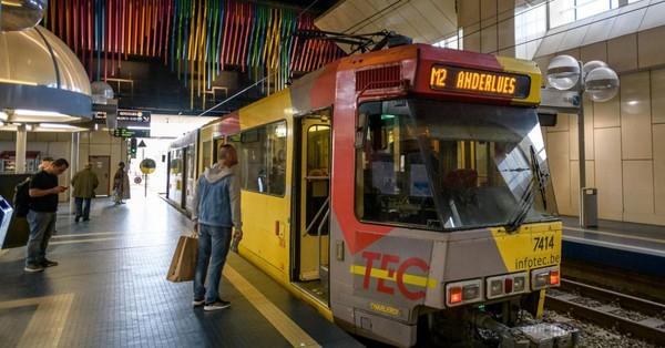 Charleroi: incendie de câbles sur les rails du métro