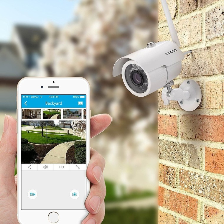 Top 5 Best Wifi IP Camera Home Security For iPhone and iPad