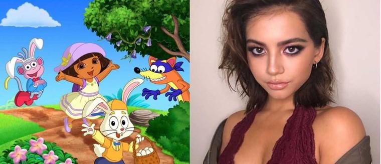 Dora l'exploratrice : voilà à quoi ressemblera l'actrice qui va jouer l'héroïne pour enfants... et c'est surprenant ! (PHOTO)