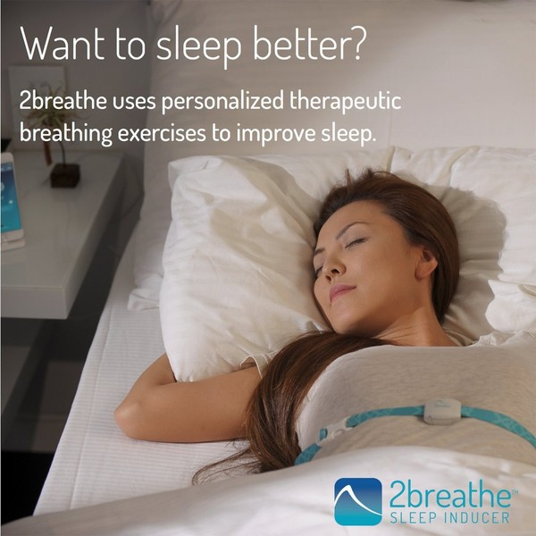2breathe Sleep Inducer - Improve Your Sleep Naturally With iPhone