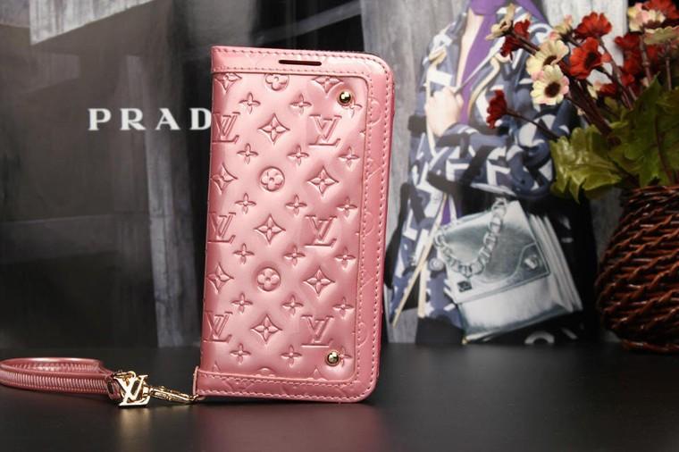 portefeuille/coque /étui de Louis Vuitton en cuir à vernis pour iphone 6 /6 plus iphone 5/5s