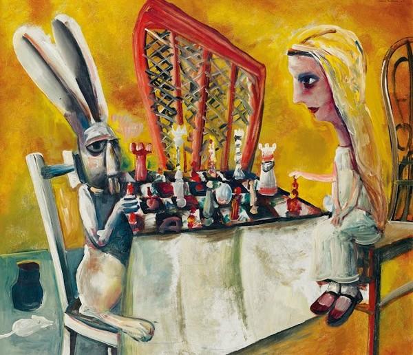 Exposition Art Blog: Charles Blackman - Alice in Wonderland