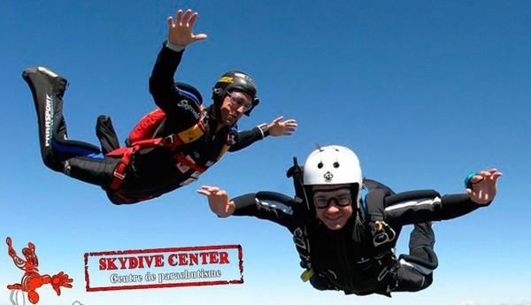 Centre de parachutisme professionnel Tallard, France, saut en tandem - Skydive Center