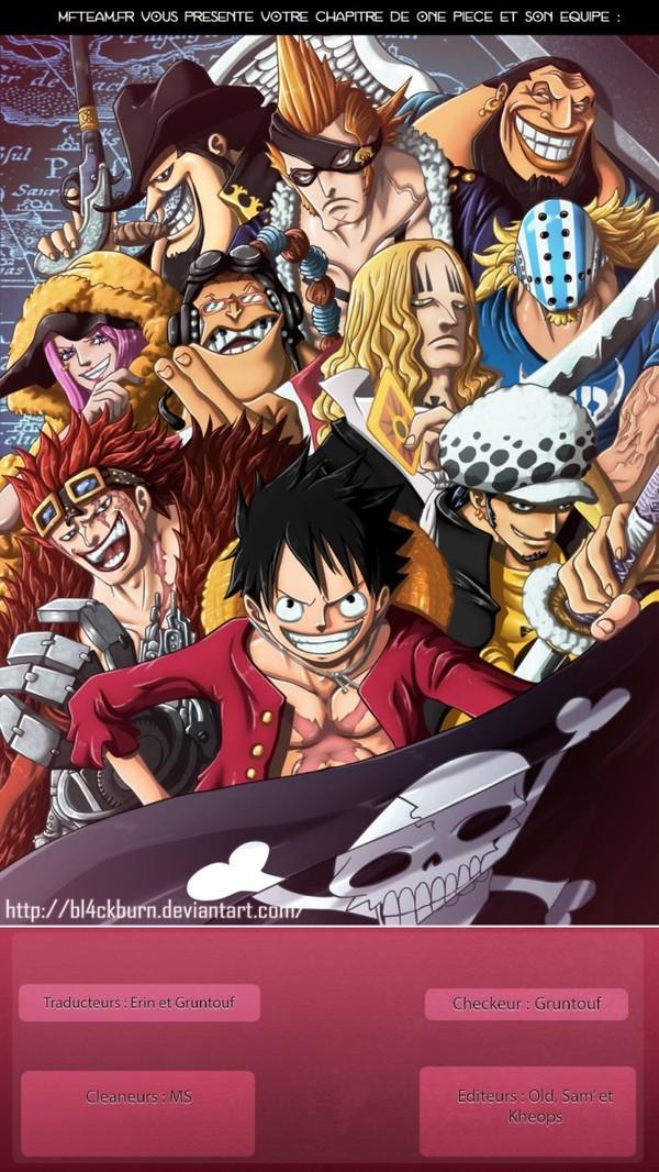 One Piece :: Chapitre 824 :: MFTeam Online