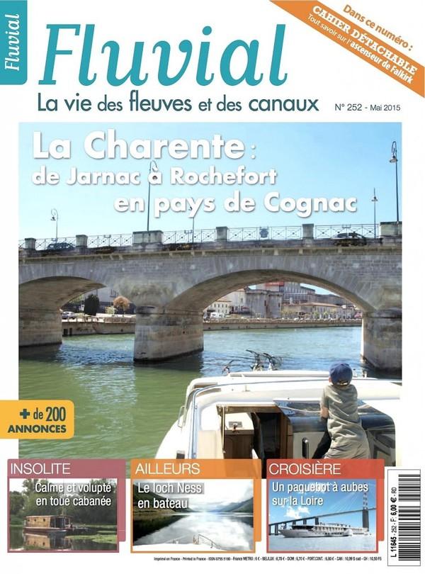 Revue Fluvial Vient de paraître Fluvial 252 - le numéro de mai est dans les kiosques et les maisons de Presse