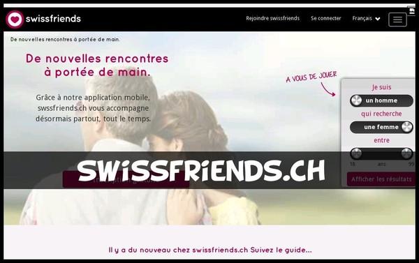 Swissfriends.ch - Test & Avis d'un Site de rencontres Suisse