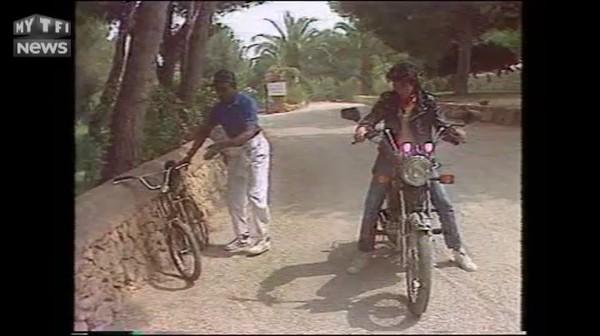 """Moment culte de l'été : à moto derrière Jean-Luc Lahaye, Sidney prévient, """"plus jamais"""""""