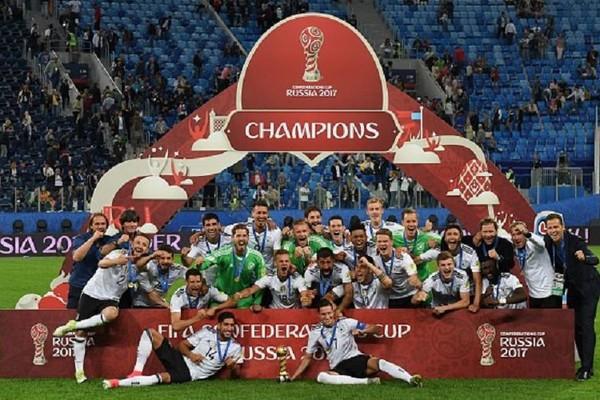 Jerman Juara Piala Konfederasi Untuk Pertama Kalinya dengan Menaklukan Chile di Partai final