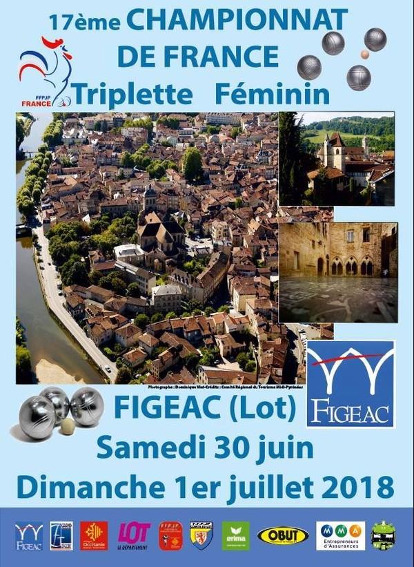 Présentation : France Triplette Féminin à Figeac (46) | Petanque Catalane