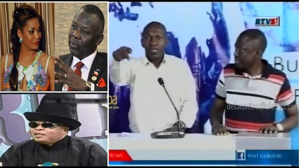 Débat-choc : Daniel NSAFU demande à Vital KAMERHE d'offrir ses bon offices à JB MPIANA et AMIDA - YouTube