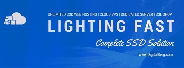 Digitalberg: Unlimited SSD Web Hosting, VPS & Dedicated servers