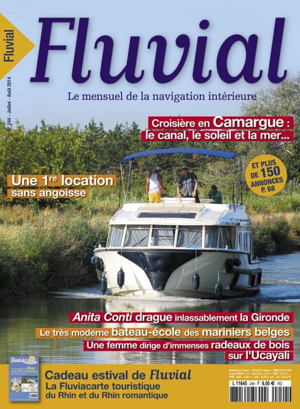 Revue Fluvial FLUVIAL 244 - Le numéro d'été est dans les rayons des Maisons de Presse
