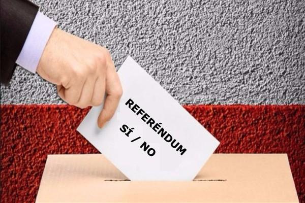 Plebiscito en Venezuela, sí, pero referéndum en Cataluña,no