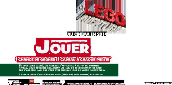 P'tit Volvic - Lego La Grande aventure