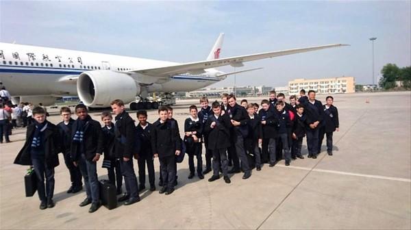 Arrivée en Chine et changement d'avion. Arrivée en Chine et changement d'avion. Premier... - Tout sur Les Petits Chanteurs à la Croix de Bois