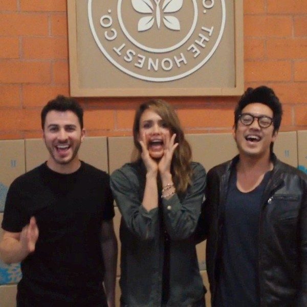 .@jessicaalba | Our friends @hunterhunted123 visit @honest headquarters chk out their awesome... | Webstagram