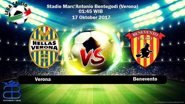 Prediksi Verona VS Benevento 17 Oktober 2017   Prediksiskorbolajitu  