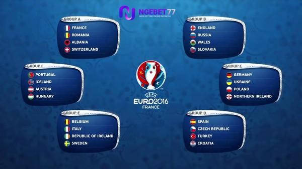 Jadwal Bola Euro 2016 Dan Bursa Taruhan Bola Euro 2016