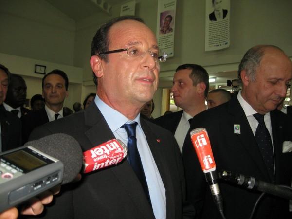 François Hollande, chef de l'Etat français