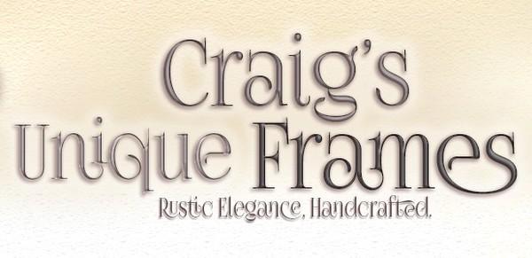 Handcrafted Wood Frames   Craig's Unique Frames
