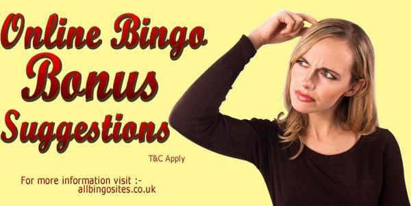 Online Bingo Bonus Suggestions