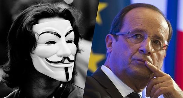 Le jeune Anonymous arrêté répond à l'État français par un poème