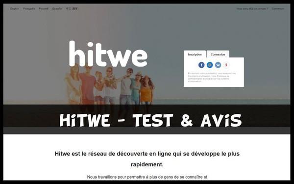Hitwe App Rencontre - Test & Avis