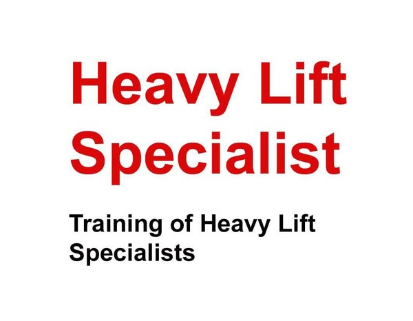 Specialist News | Heavy Lift Specialist