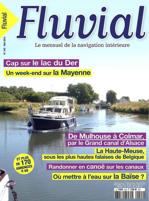 Revue Fluvial Vient de paraître Fluvial 242 - Un numéro de mai pour profiter des ponts !