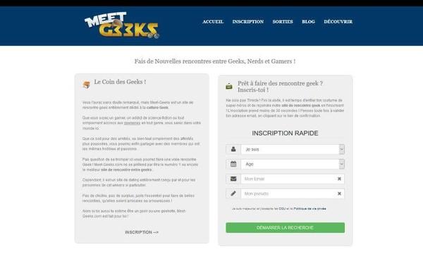 Meet-Geeks : Avis et Présentation - Top10Rencontre.date