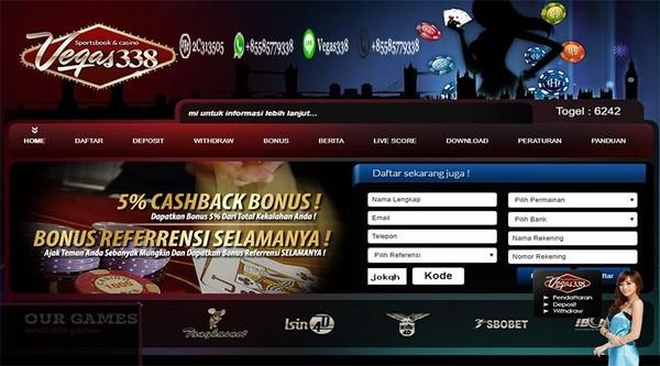 Link Alternatif Terbaru Situs Vegas338