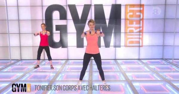 Gym Direct - 11/05/2014 - Sandrine : Tonifier son corps avec des haltères