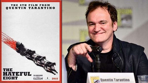 Une affiche sanglante pour le prochain Tarantino