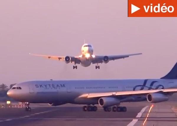 Une collision entre deux avions évitée de justesse à l'aéroport de Barcelone