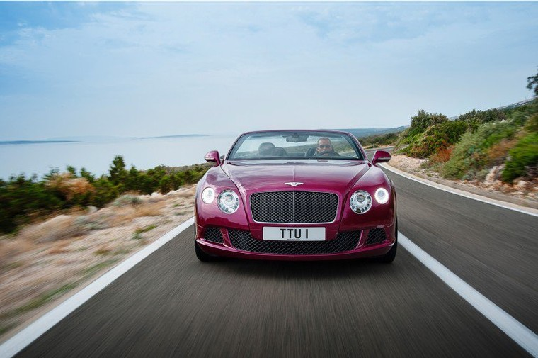 Car: Bentley to debut world's fastest four-seat convertible at NAIAS 2013 Новый кабриолет Беннтли