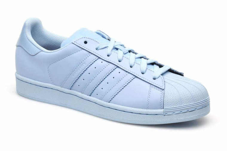 Adidas Originals Superstar Supercolor Bleu Baskets Femme