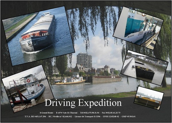 Driving Expedition S.A. - Notre flotte