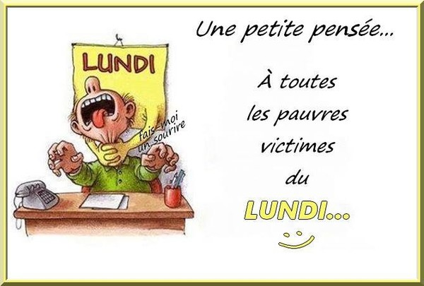 Bon Lundi Humour - Images, photos et illustrations gratuites pour facebook