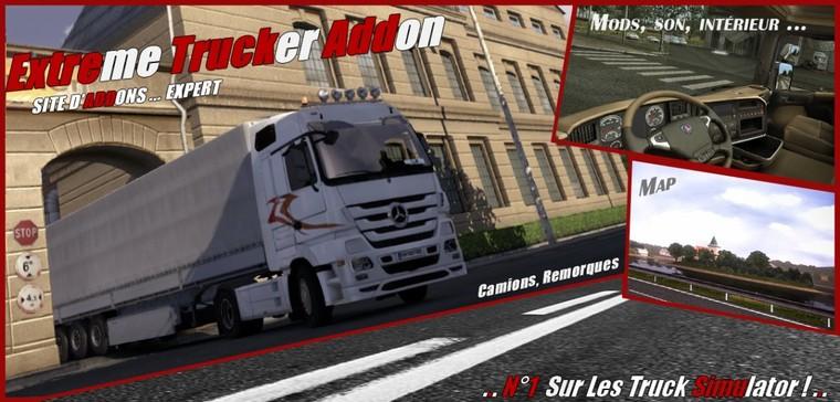 Extreme Trucker addon :: addon de simulation Routière :: Connexion