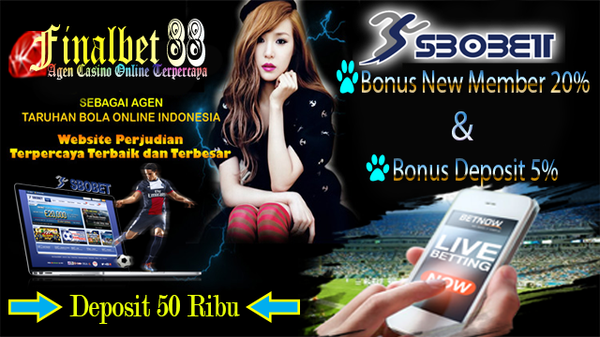 Judi Online Sbobet Mobile Android Deposit 50rb