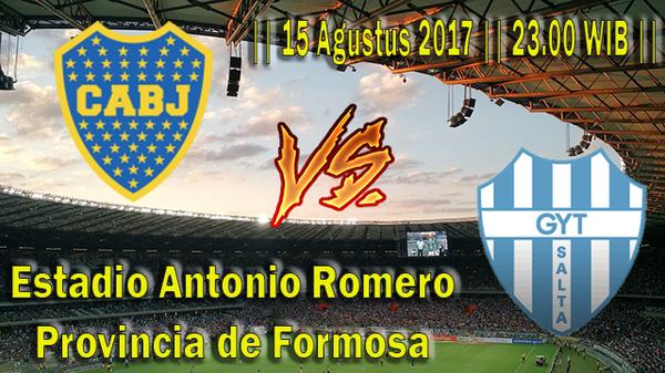 Prediksi Boca Junior vs Gimnasia Y Tiro 15 Agustus 2017 Copa Argentina