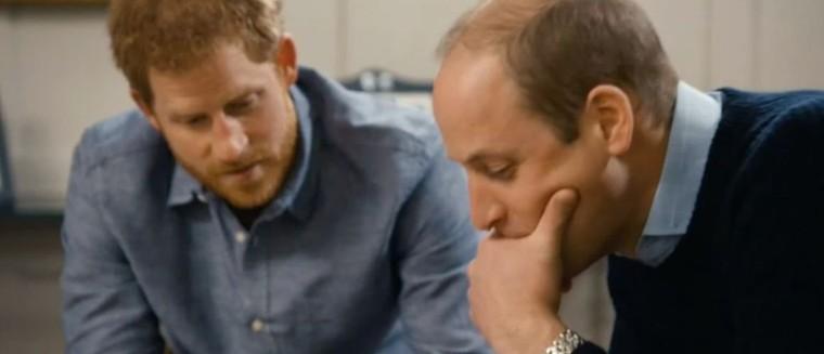 Les princes Harry et William évoquent leur mère pour la première fois à la télévision
