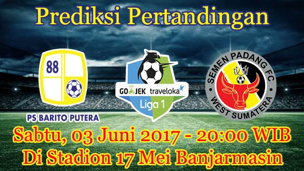 Prediksi Barito Putera vs Semen Padang 3 Juni 2017