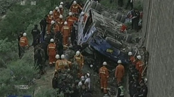 Journal en continu - Tragique accident de bus au Tibet