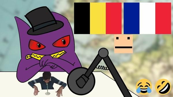La Belgique et la France - Un belge (Imas69) ft des français (Baptiste, mega, Roger, Hita, Kenra)